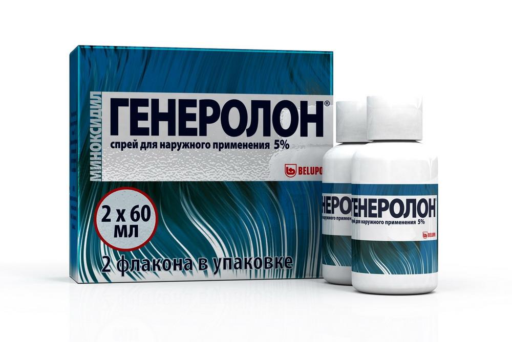 Генеролон р-р наруж. 5% 60мл №2