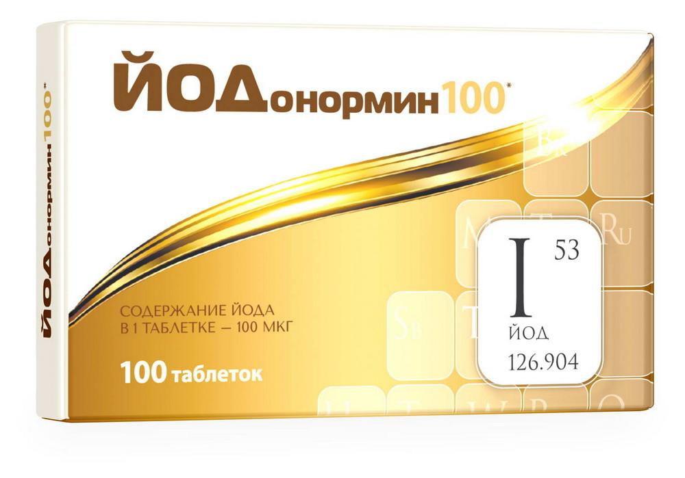 Йодонормин таб. 100мкг №100