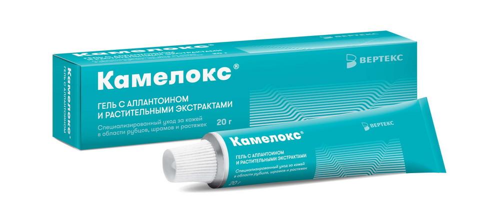Камелокс гель с аллантоином и раст.экстрактами 20г