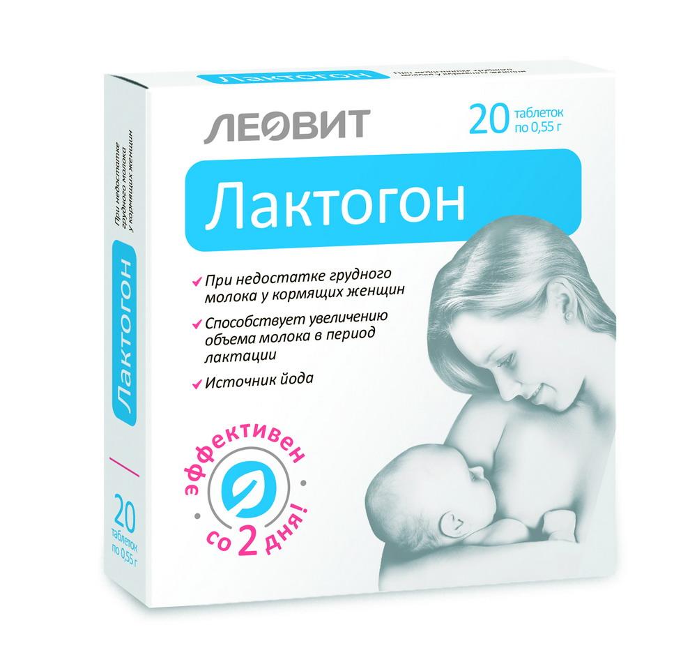 Лактогон Леовит таб. 0.55г №20