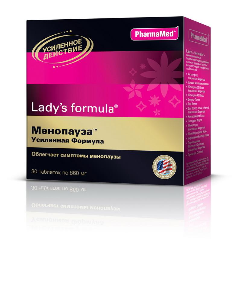 Ледис формула менопауза усиленная формула таб №30