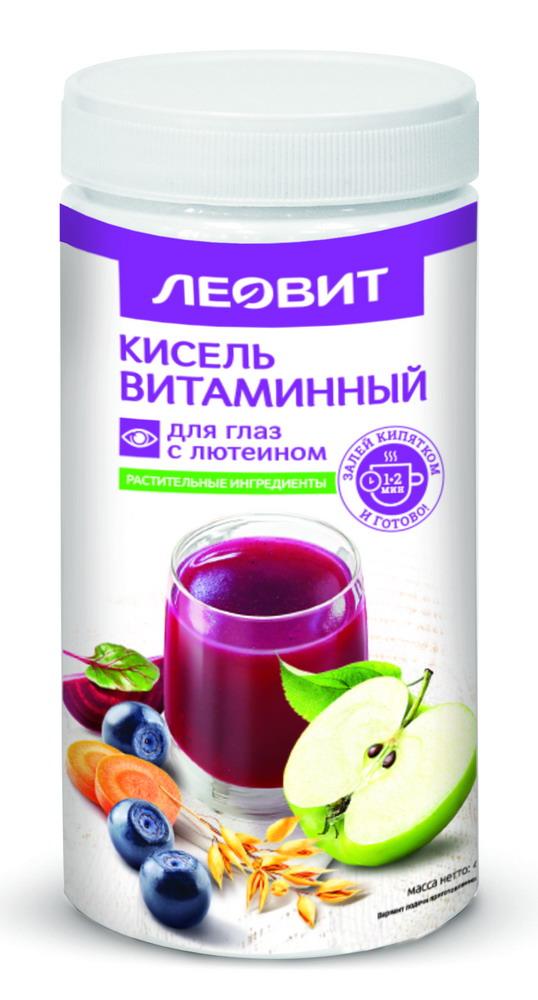 Леовит кисель витаминный д/глаз с лютеином гран. 400г
