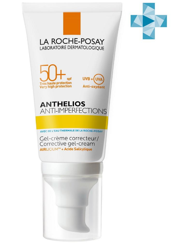 ЛРП Антгелиос гель-крем д/жирной, проблемной и склонной к акне коже лица спф50+ 50мл