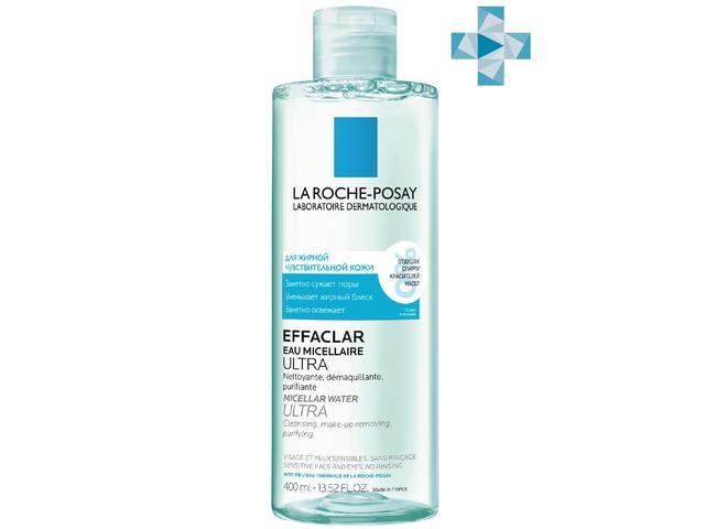 ЛРП Эфаклар Мицеллярная вода д/жирной проблемной кожи Ультра 400мл