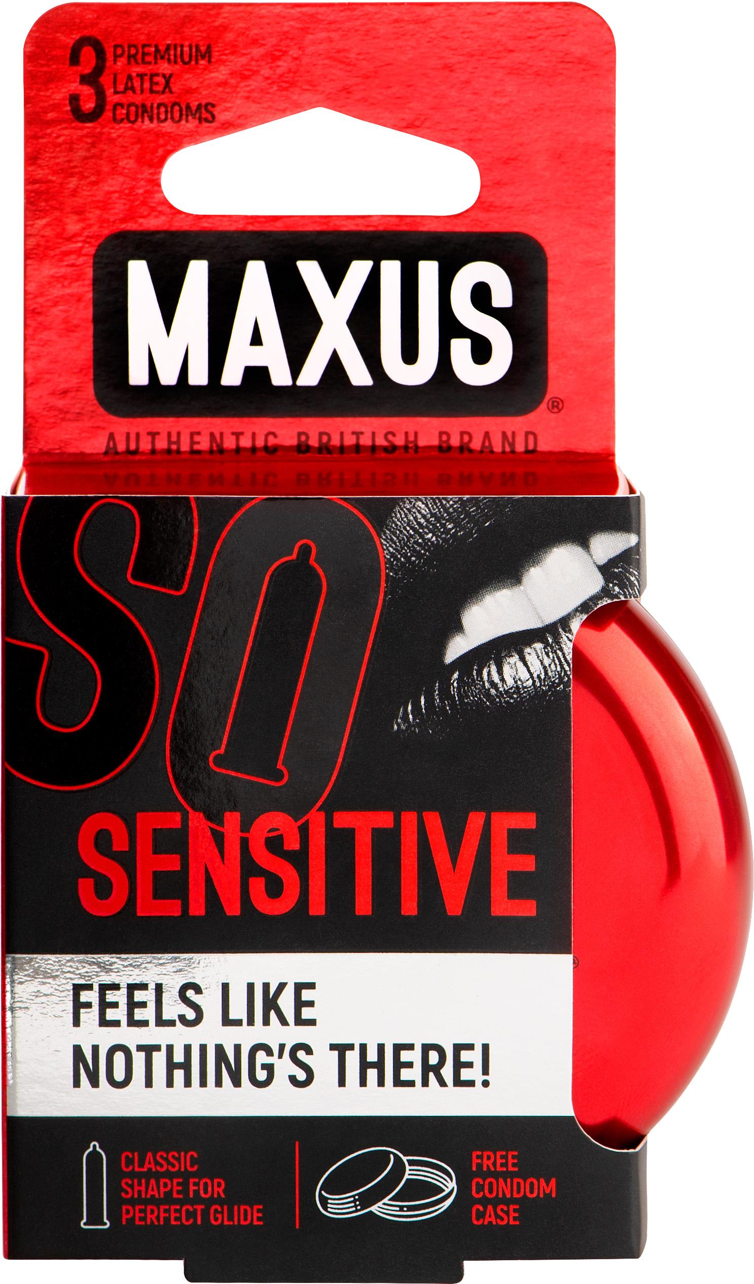 Максус презервативы ультратонкие №3 Сенсетив