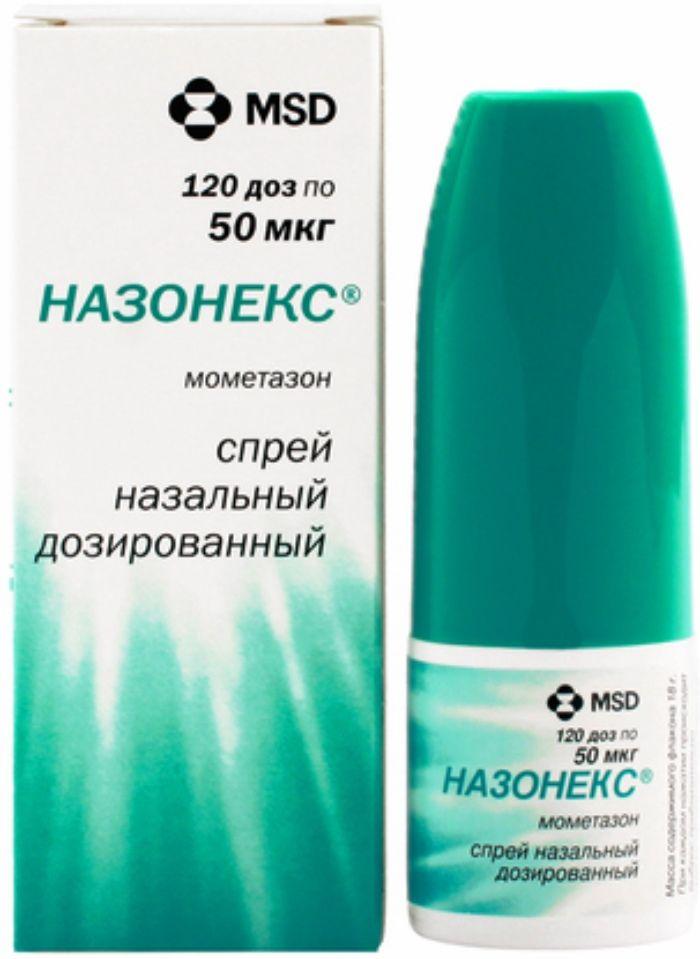 Назонекс спрей наз. 50мкг/доза 18г 120 доз