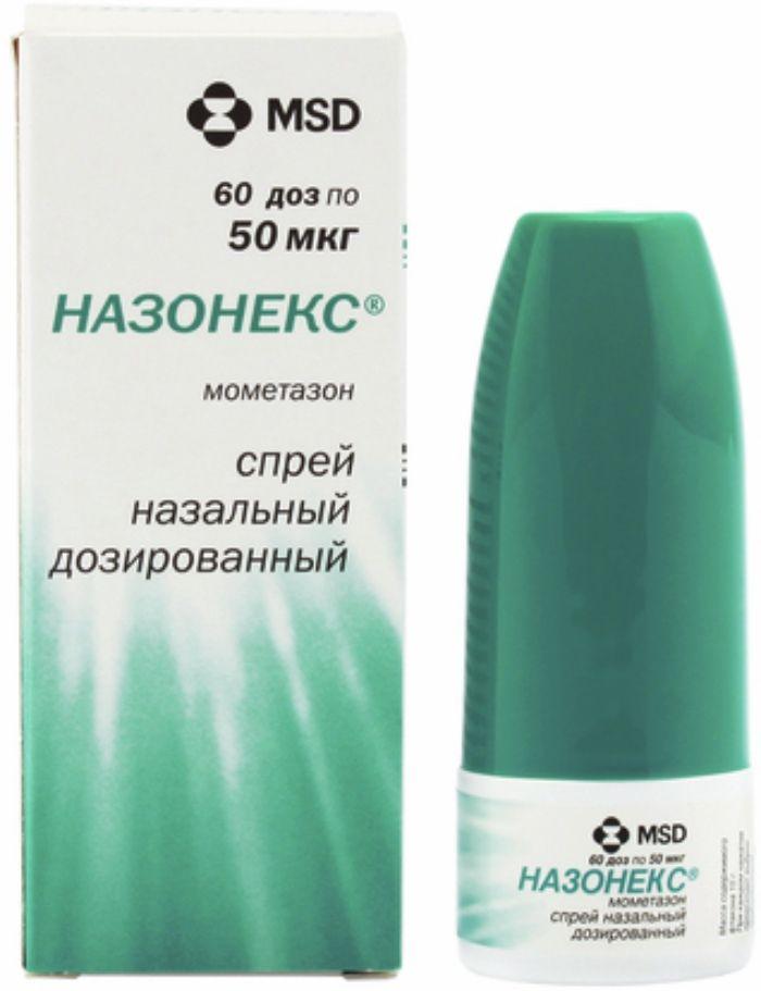 Назонекс спрей наз. 50мкг/доза 60 доз
