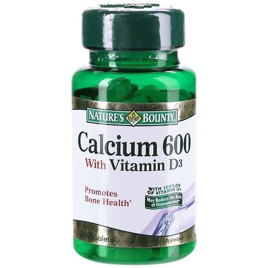 Нэйчес Баунти Кальций 600 Витамин Д3 таб. №60