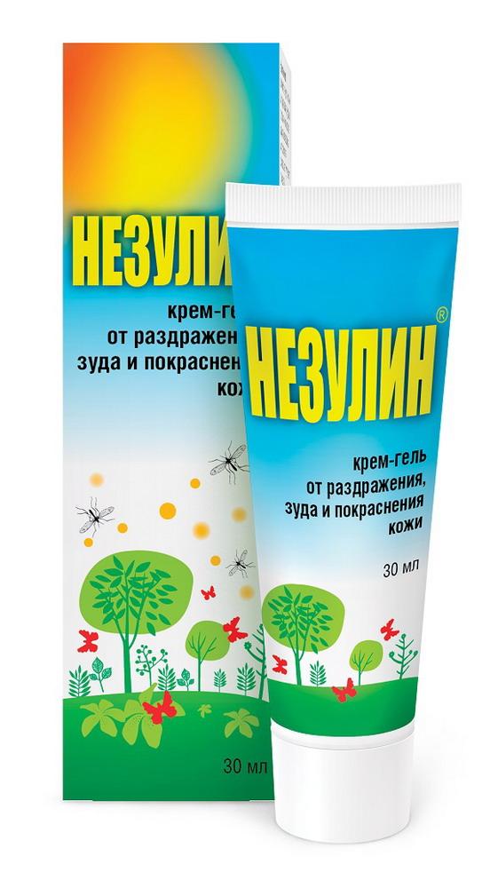 Незулин крем-гель от раздражения зуда и покраснения 30мл