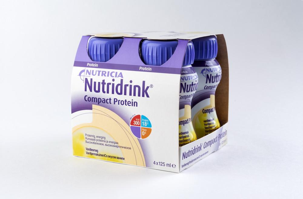 Нутридринк Компакт Протеин смесь д/энтер. питания Ваниль 125мл №4