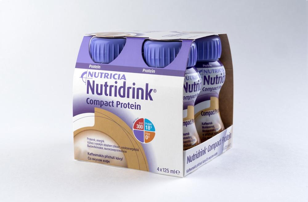Нутридринк Компакт Протеин смесь д/энтер. питания Кофе 125мл №4