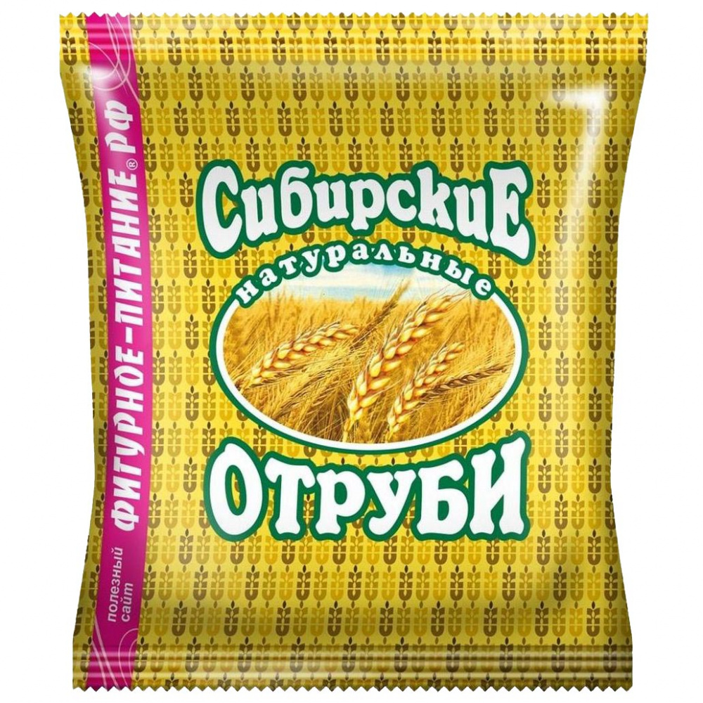 Отруби Сибирские Пшеничные (очищающие) 200г