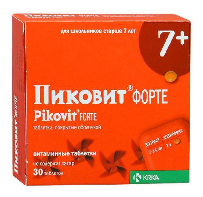 Пиковит Форте таб. п/о №30