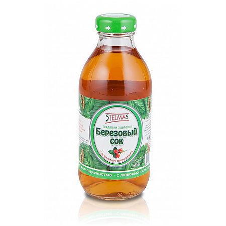 Стэлмас Березовый сок шиповник 0.25л