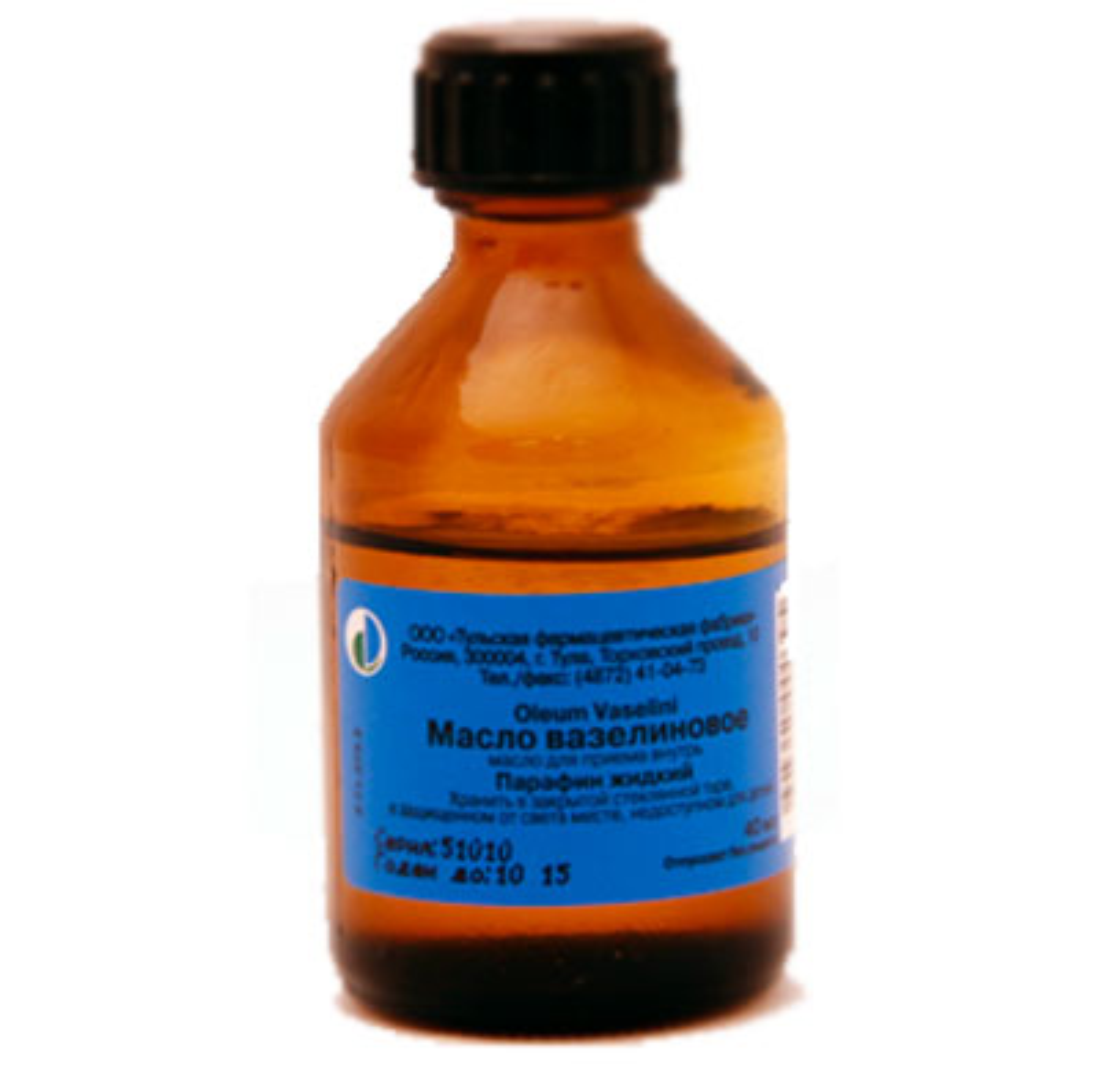 Вазелиновое масло 40мл