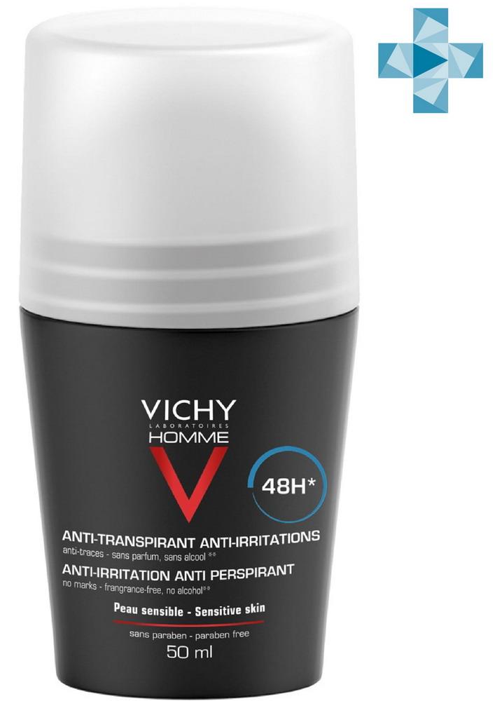 Виши ОМ дезодорант-антиперспирант 48ч д/чувствит кожи 50мл