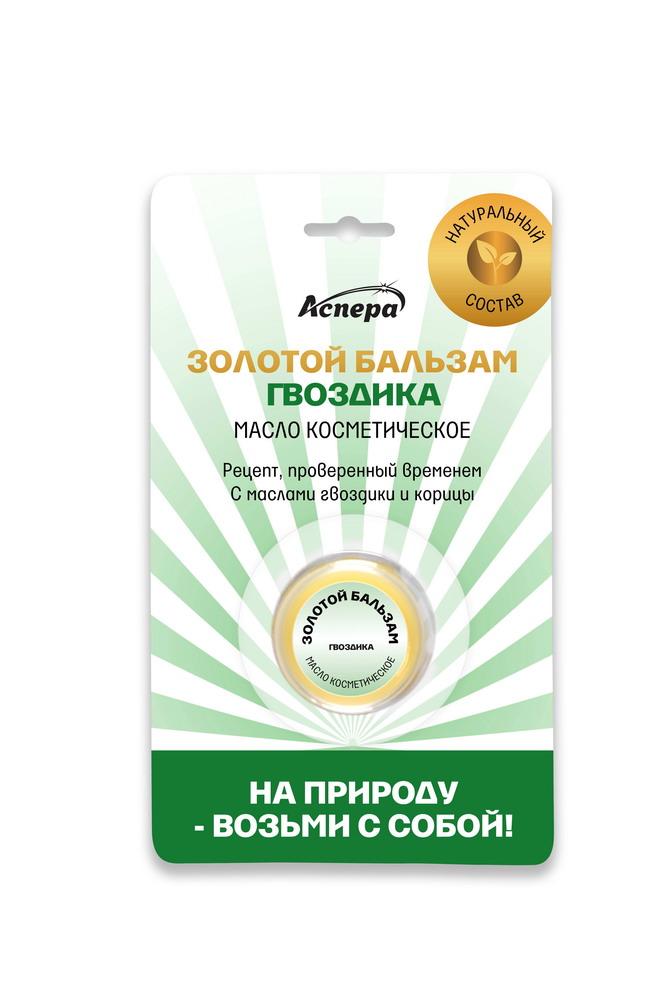 Золотой бальзам Гвоздика масло косметическое мягкое 4г
