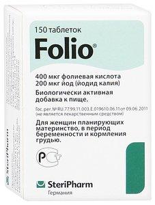 Фолио таб. 95мг №150