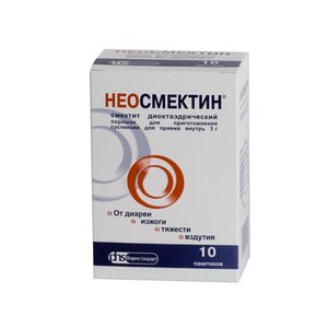 Неосмектин пор. д/сусп.внутр. ваниль 3г №10