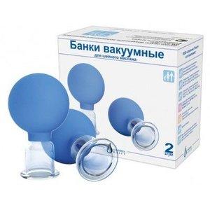Банки вакуумные полимерно-стеклянные терапев. (БВ-01-АП-2) №2