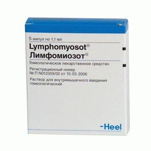 Лимфомиозот р-р д/ин. 1.1мл №5