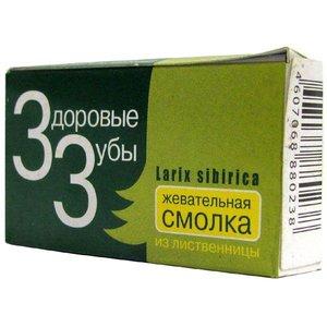 Жевательная смолка здоровые зубы Siblarix 1г №10