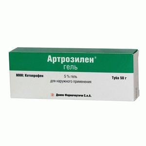 Артрозилен гель 5% 50г
