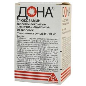 Дона таб. п/о 750мг №60