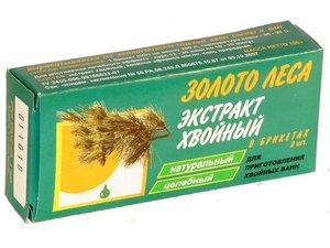 Хвойный экстракт д/ванн брикеты 50г №2 (золото леса)