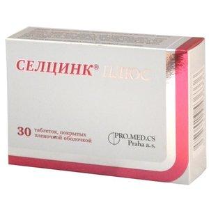 Селцинк Плюс таб. п/о 672мг №30