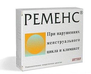 Ременс таб. гомеопат. №36