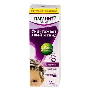 Паранит шампунь ср-во педикулицидное 200мл (расческа)