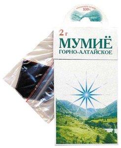 Мумие Горно-Алтайское пак. 2г Алтайский Нектар