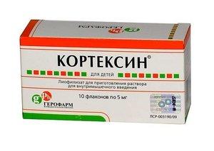 Кортексин лиоф в/м фл. 5мг №10