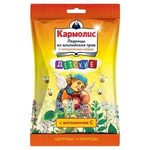 Кармолис Леденцы детские с медом и витамином С 75г