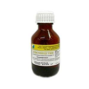 Левомицетин 1% 25мл