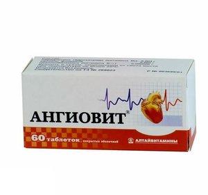 Ангиовит таб. п/о №60