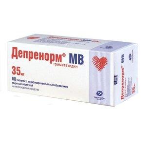 Депренорм МВ таб.пролонг.п.п.о. 35мг №60