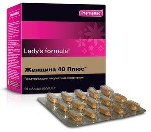 Ледис формула женщина 40 плюс таб. №30