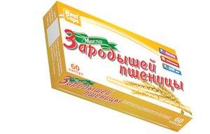 Масло зародышей пшеницы капс. 0,3г №60