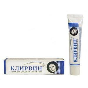 Клирвин крем п/пятен/шрамов на коже 25г