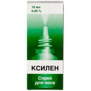 Ксилен спрей наз. 0,05% 10мл