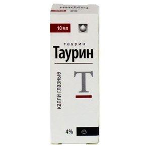Таурин капли гл. 4% 10мл Реневал