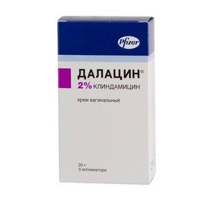 Далацин крем ваг. 2% 20г (+3 апплик)