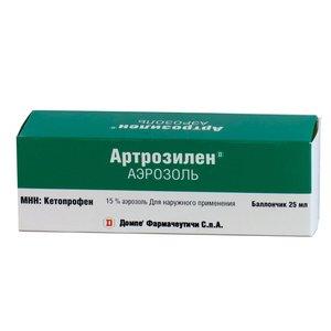 Артрозилен аэроз. наружн. 15% 25мл
