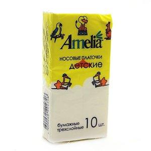 Амелия Платки бумажные Детские №10