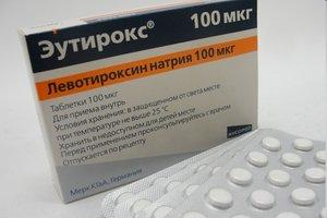 Эутирокс таб. 100мкг №100