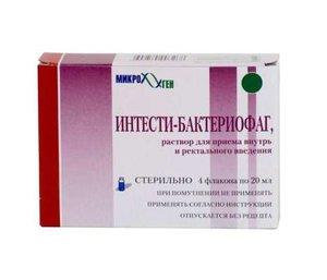 Бактериофаг-интести р-р внутр/рект 20мл №4