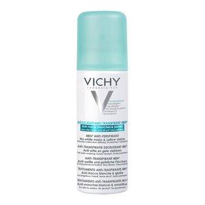 Виши дезодорант-антиперспирант 48ч спрей-аэрозоль против белых и желтых пятен 125мл