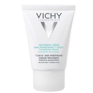 Виши дезодорант-крем 7 дней регулирующий избыточное потоотделение тюбик 30мл